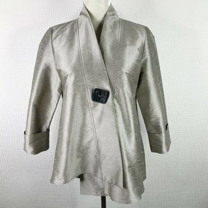 IC by Connie K Jacket S One Button Asymmetrical
